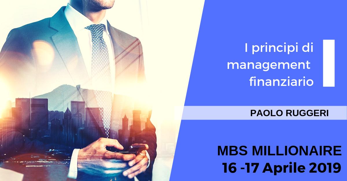 I principi di management finanziario