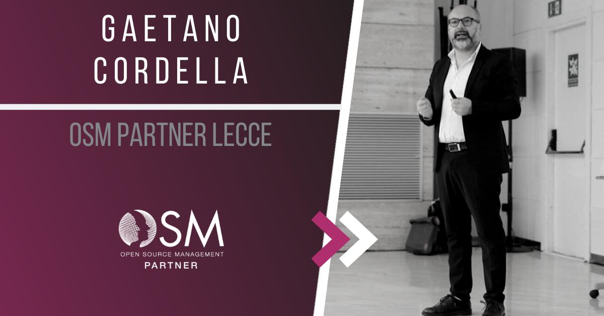 Intervista a Gaetano Cordella – OSM Partner Lecce